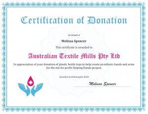 certificate-appreciation-donation-ATM Helping Hands